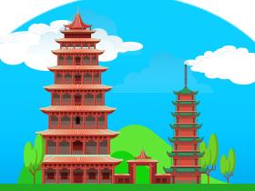 梵天寺木塔
