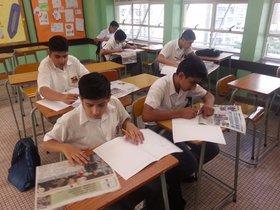 圍繞學生生活而設計的練習