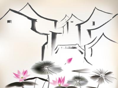 清平樂‧村居 高級