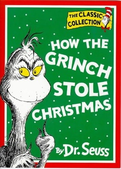 book cover of How the Grinch Stole Christmas!