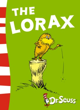 book cover of The Lorax