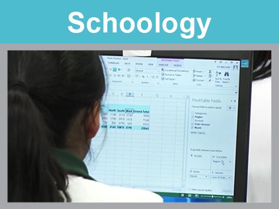Schoology翻轉中一、中四電腦科課堂