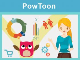 PowToon助製作動畫影片