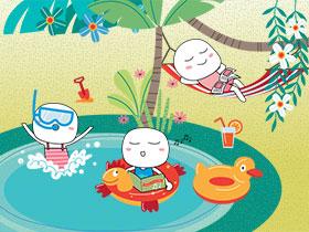 主題書單 - 仲夏時光樂悠遊