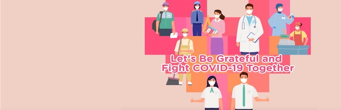 Let's Be Grateful and Fight COVID-19 Together (for Secondary Schools)